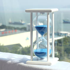 Modern Glass Hourglass