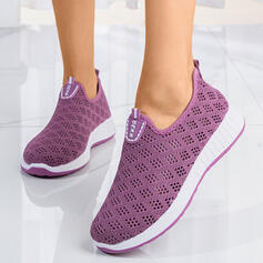 Women's Cloth Casual Athletic With Lace-up shoes