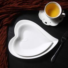 Szív alakú porcelán Asztali készletek (2-es készlet)