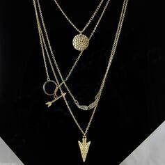 Einzigartig Exquisiten Stilvoll Legierung Schmuck Sets Halsketten Strandschmuck