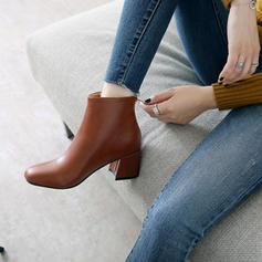 Femmes Similicuir Talon bottier Escarpins Bottes Bottines chaussures