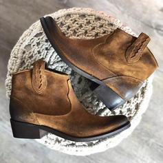 Pentru Femei PU Toc jos Cizme cu Altele pantofi