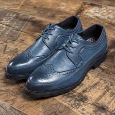 Lace-up Brogue Casual Leatherette Men's Men's Oxfords
