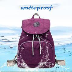 Women Nylon Waterproof Casual Backpack Travel Outdoor Schoolbags