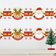 Modern Classic Joulu Kaikki muodot Asetelma Seinätarrat
