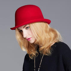 Ladies' Elegant/Exquisite/Vintage Wool Bowler/Cloche Hats
