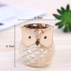 Novelty Ceramic Owl Table Vases