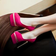 Femmes Suède Talon stiletto Escarpins Plateforme Bout fermé avec Autres chaussures