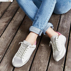 Frauen PU Lässige Kleidung mit Zuschnüren Schuhe