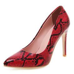 Femmes Cuir en microfibre Talon stiletto Escarpins avec Autres chaussures