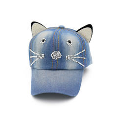 Ladies' Fashion Linen Baseball Cap