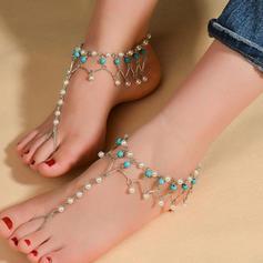 Alloy Foot Smykker (Sett med 2)