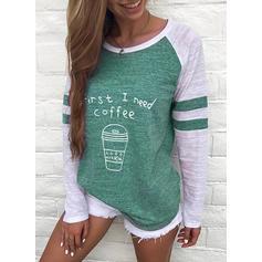 Polyester Inmprimé Sweat-shirts
