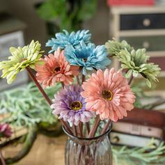 24'' Tournesols & Marguerites Soie Plastique Bouquets ( ensemble de 3)