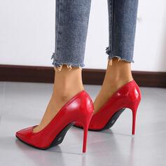 Vrouwen Kunstleer Stiletto Heel Puntige teen schoenen