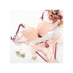 Polyester Nylon Chinlon Lace Lingerie Set