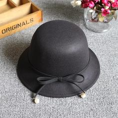 Señoras' Estilo clásico Mezcla de lana Disquete Sombrero