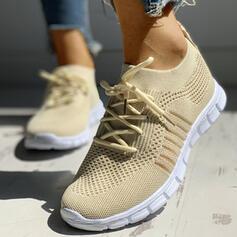 De mujer Tela Malla Casual al aire libre Atlético con Cordones zapatos
