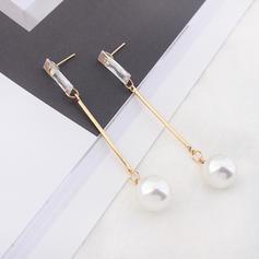 Unique Imitation Pearls Acrylic Women's Fashion Earrings
