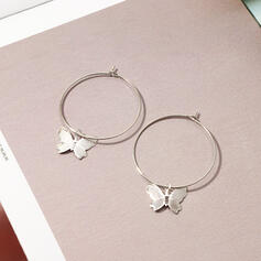 Fashionable Cool Alloy Earrings
