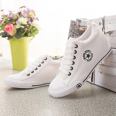 Pentru Femei Pânză Fară Toc Balerini Vârf scăzut Espadrille cu Lace-up Imprimare pantofi