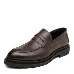 Penny Loafer Casual Microfiber Leather Men's Men's Loafers