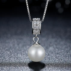 Mode silver Fauxen Pärla Damer' Mode Halsband