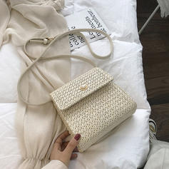 Pearl Style Linen Crossbody Bags/Shoulder Bags