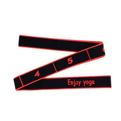 Yoga Multi-functional Cotton Polyester Yoga Stretch Strap