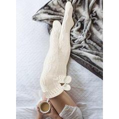 Solid Color Breathable/Women's/Knee-High Socks Socks/Stockings