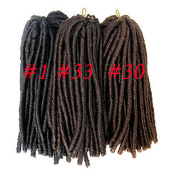 Dread Locks/Faux Locs Synthetic Hair Braids 15strands per pack 90g