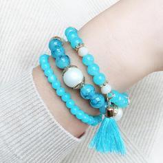 Stylish Alloy Resin With Tassels Women's Bracelets (Sold in a single piece)