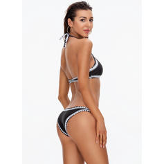 Triangle Low Waist Strap Halter Sexy Bikinis Swimsuits