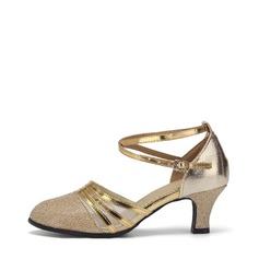 Women's Ballroom Heels Sandals Leatherette Modern