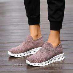 Mulheres Malha EVA Casual Outdoor com Oca-out sapatos