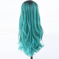 Hullámos Szintetikus haj Csipke front parókák 340g