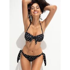 Dot Strapless Sexy Bikinis Swimsuits