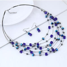 Fashionable Alloy Acrylic Women's Jewelry Sets (Set of 2)