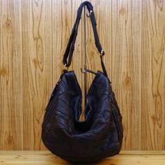 Elegant Genuine leather Shoulder Bags/Hobo Bags