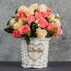 12'' Rose Silk Bouquets