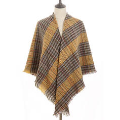 Plaid Oversized/fashion/Comfortable Scarf