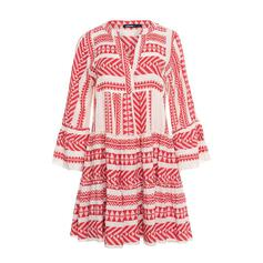 Print 3/4 Sleeves/Flare Sleeves A-line Above Knee Casual/Elegant Dresses