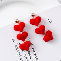 Nice Cloth Alloy Women's Earrings (Set of 2)