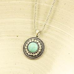 Exquisito Aleación Diamantes de imitación con Rhinestone Señoras' Collar de la manera