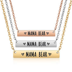 Maman ours Alliage Collier mère fille