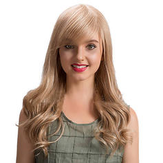 4A Non remy Loose Wavy Human Hair Capless Wigs