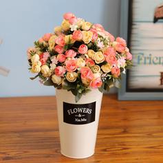 12'' Des roses Soie Bouquets