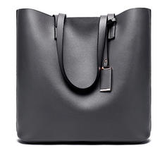 Solid Color Polyester Tote Bags/Shoulder Bags