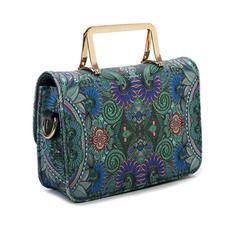 Vintage/Blommor Satchel/Axelrems väskor