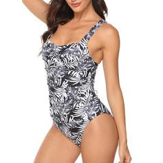 Tropische afdruk Riem Sexy Badpakken Badpakken